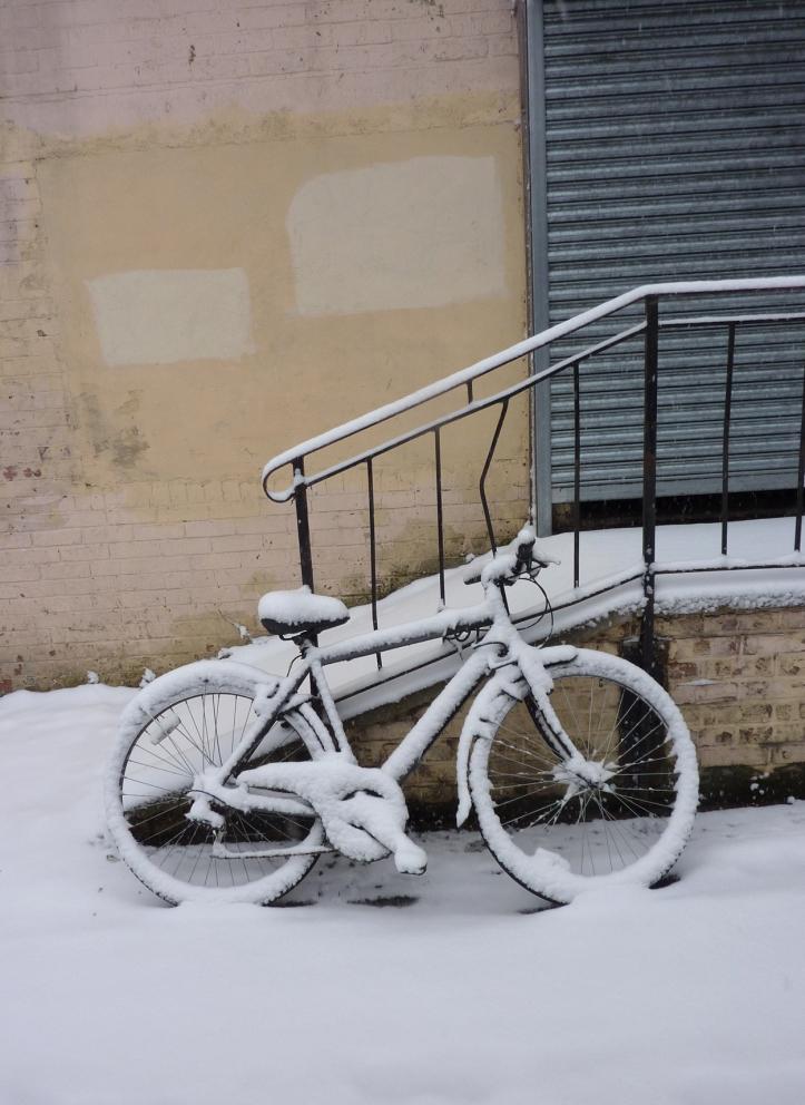 Bike in snow