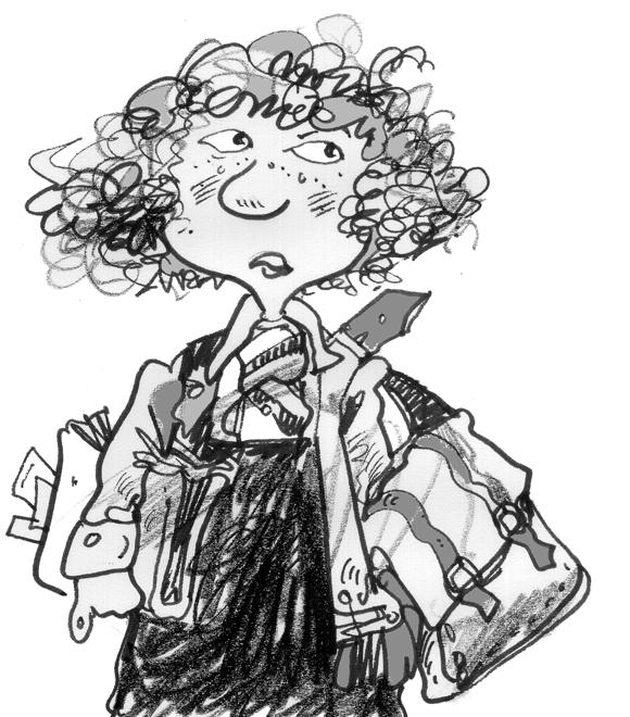 Skoolgirl drawing