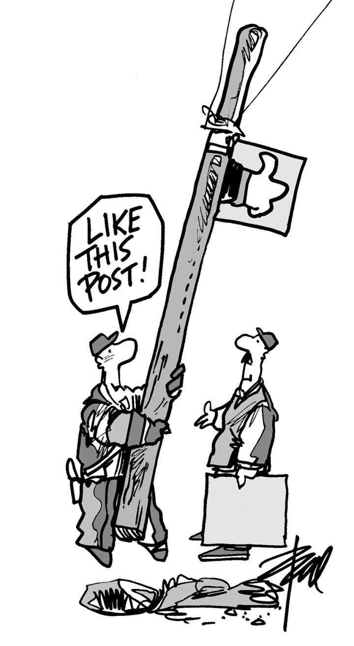 Like my post lineman