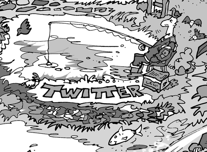 The Twitter pond...