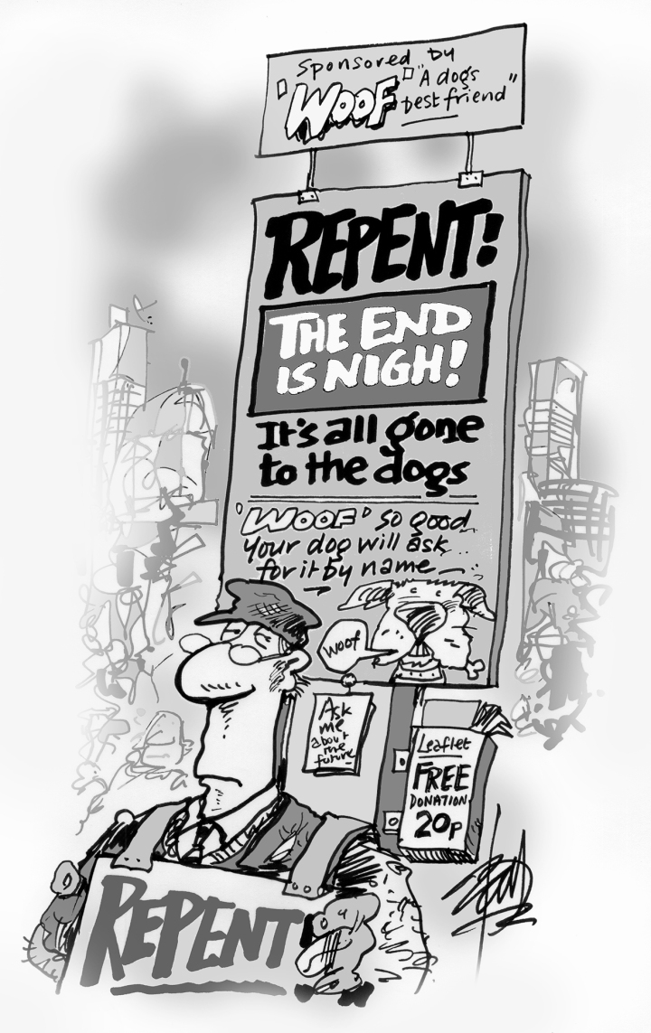 Repent! The demise of advertising.