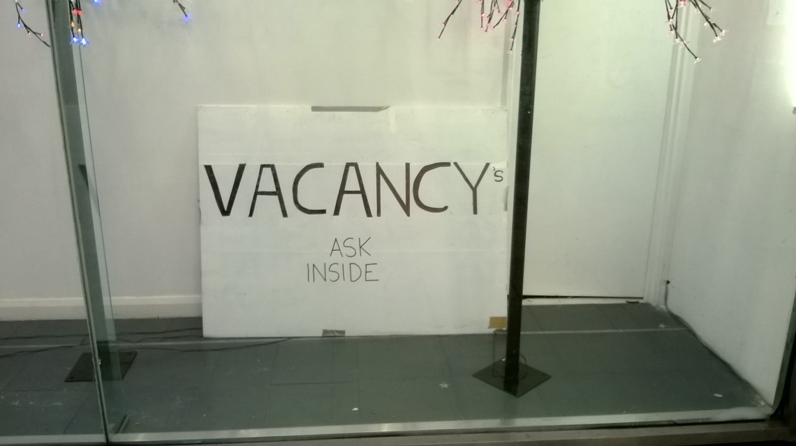 A fine piece of sign writing.