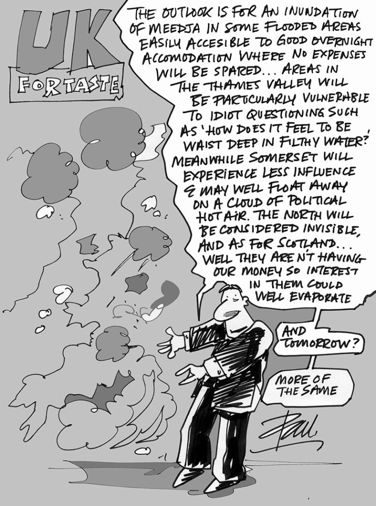Weather Warning for UK