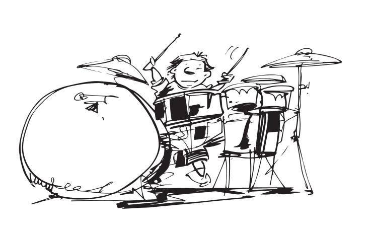 Drummin!