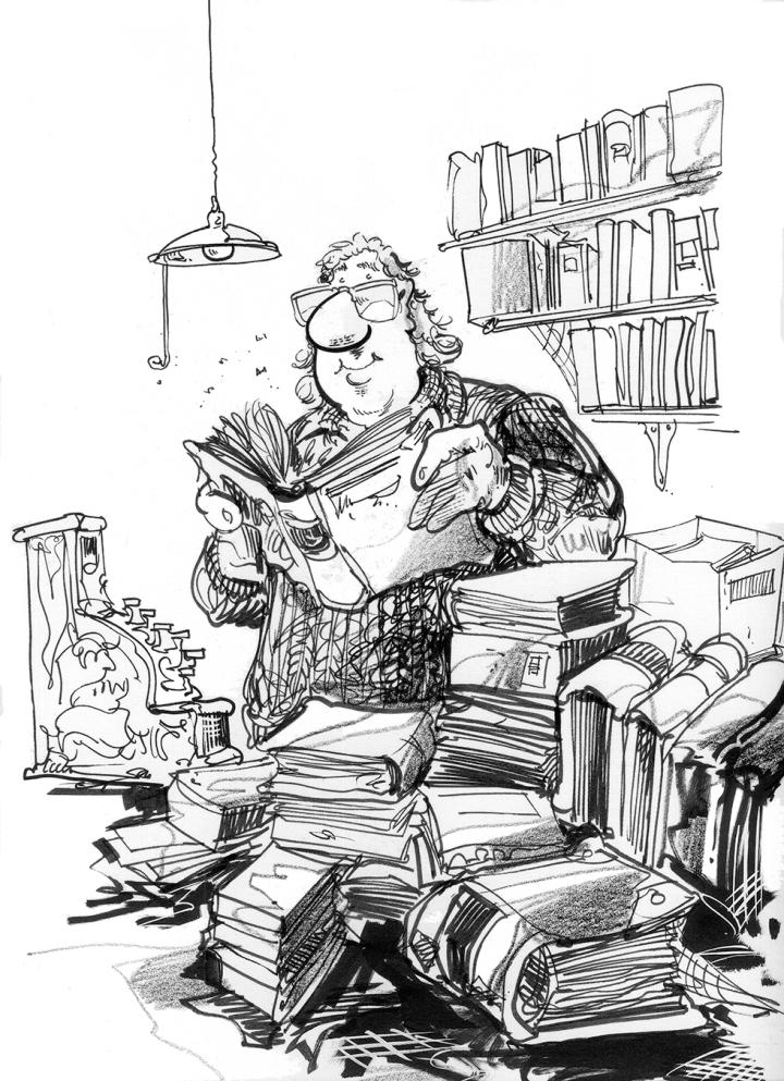 Bookshop Owner