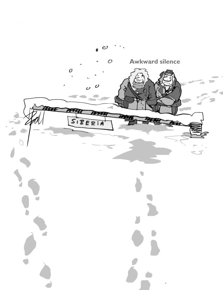 Reunion with evidence oftreachery