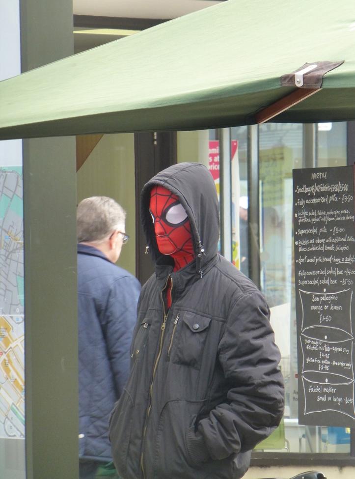 Spiderman lost