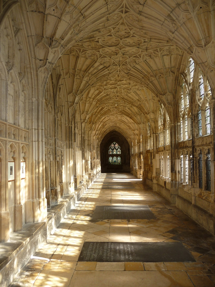 Cathedral cloisters