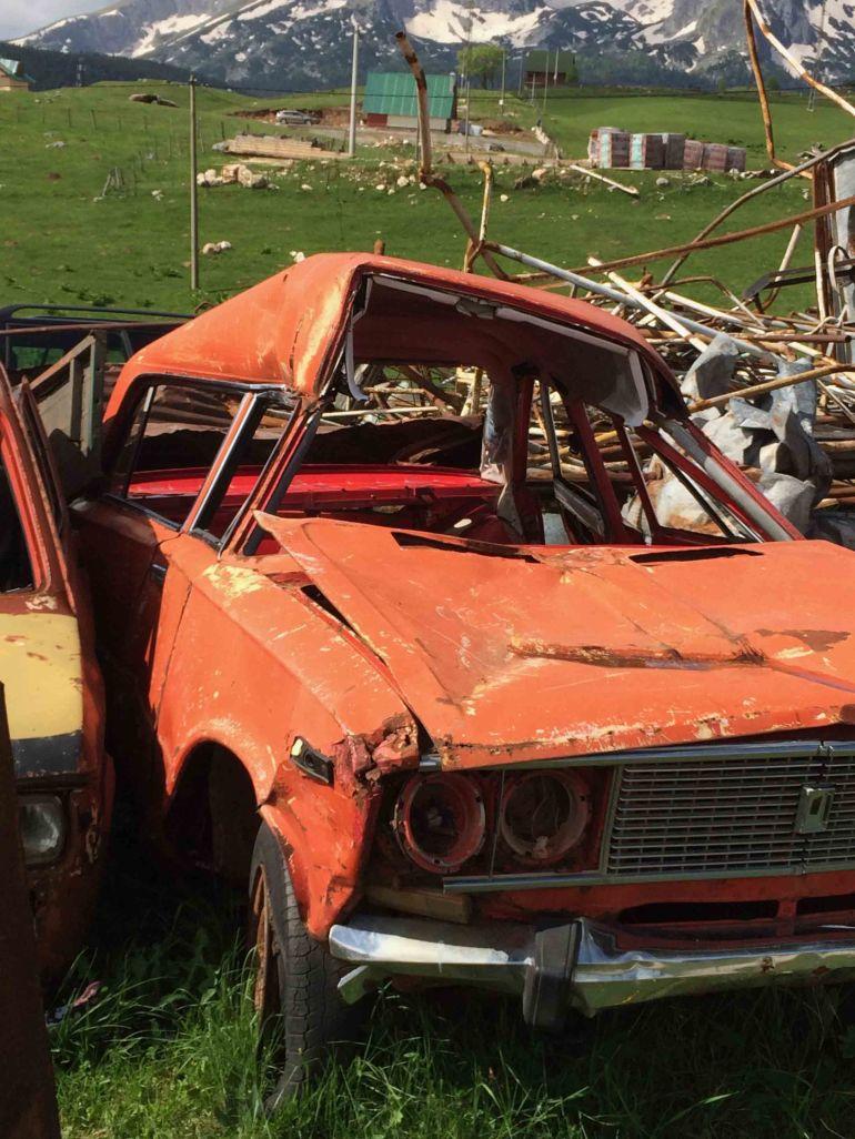 Car wrecked