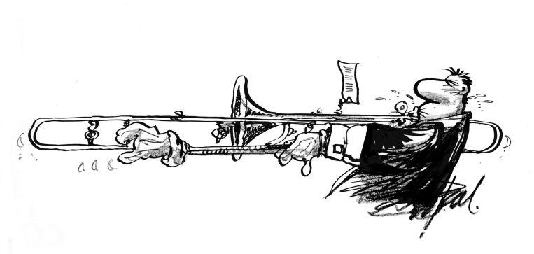 Trombonehand